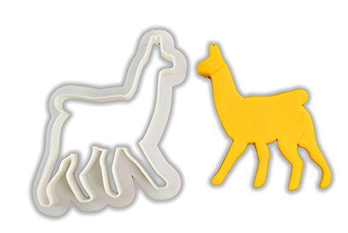 Llama Cookie Cutters - Plastic Llama cookie cutters