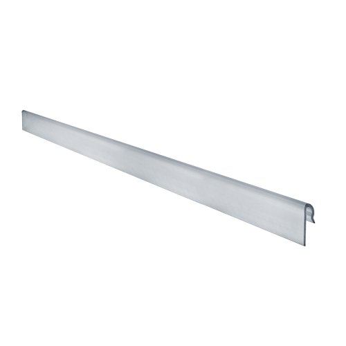 Azar Displays 600073-CLR 1.5'' H Clear Gridwall Extrusion (6 foot length) (Pack of 5) by Azar Displays