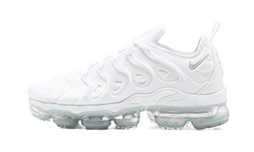 5555b7b0d0010 Nike Air Vapormax Plus (White/White-Pure Platinum,9.5)