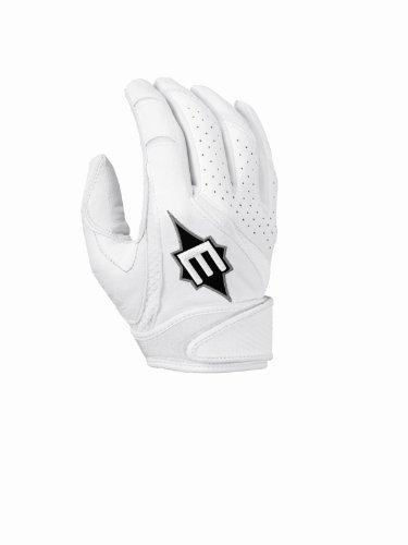 Easton Fp Rollover Batting Gloves, White, X-Small
