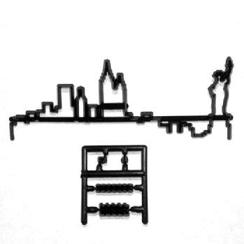 New York Skyline Patchwork Cutter Sugarcraft Equipment Tool