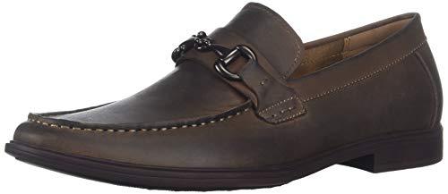 Kenneth Cole REACTION Men's Debate Slip ON Loafer, Brown, 8.5 M US