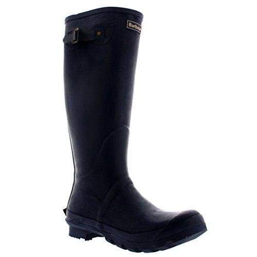Barbour Mens Bede Winter Mid Calf Snow Waterproof Rain Wellington Boots - Navy - 12-45/46
