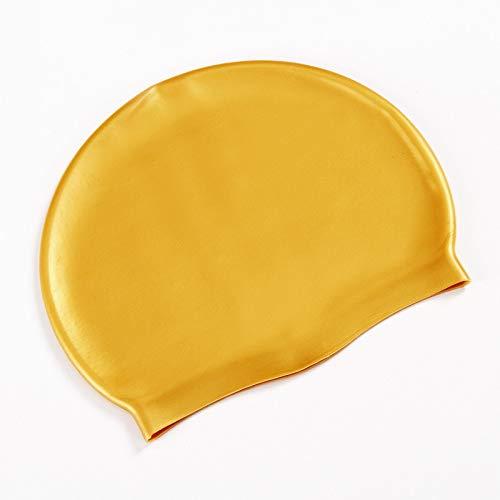 CapsA Waterproof Swimming Caps for Women Men Comfortable Swimwear Accessories Hats