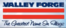 4x6 FT Valley Forge Koralex US American Flag 2 Ply Polyester Commercial Grade by Valley Forge