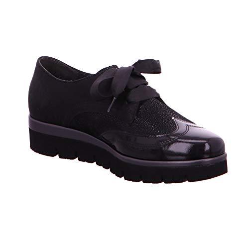 Noir Chaussures pour Femme à Gabor de Ville Lacets Hx0dqw7