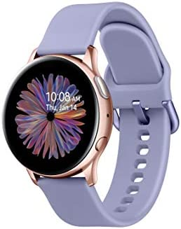 Samsung Galaxy Watch Active 2 (40mm, GPS, Bluetooth) Smart Watch with Advanced Health Monitoring, Fitness Tracking, and Long Lasting Battery - Rose Gold (US Version) 2