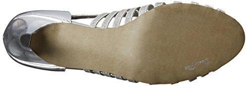 Easy Street femmes Sparkle Sandal,argent Glitter,9 M US