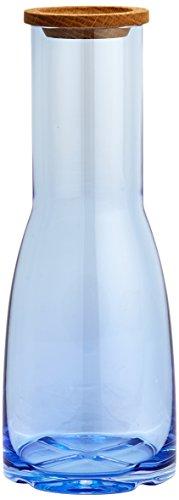 Kosta Boda Bruk 44.56 Ounce Carafe, Water Blue