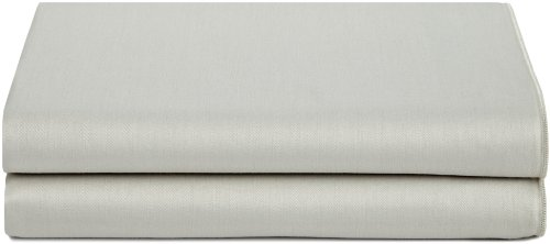 arl Edge Solid Sateen Pillowcase, King ()
