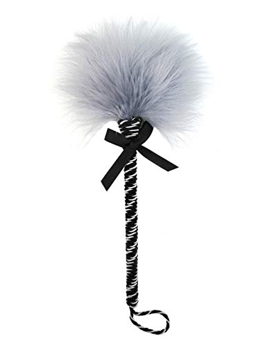UYWAO SHIRT Soft Flirting Feather Sticks Sexzy Whip Sexz Toy for Couples,Gray