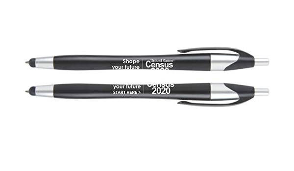 Pack of 500 $0.78 each Officially Licensed 2020 Census Stylus Pen