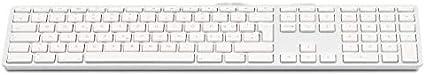 LMP - Tastiera Italiana (QWERTY) con tastierino numerico, Copertura Superiore in Alluminio e 2 Porte USB - per Mac