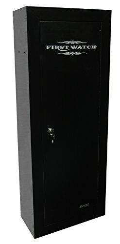 Homak HS30120080 8-Gun First Watch Steel Security Cabinet, Black