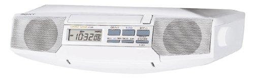 Sony ICF-CD513 Under-Cabinet CD Clock Radio (Discontinued by Manufacturer) (Sony Fm Am Cd Kitchen Clock Radio)