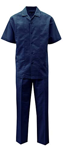 STACY ADAMS Men's Solid Linen Set (5XL/54, Navy) for sale  Delivered anywhere in USA