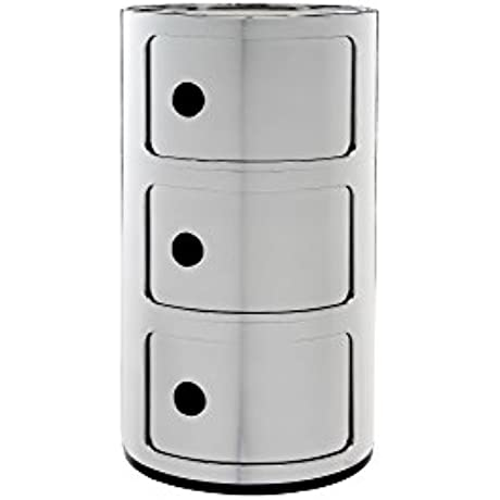 Kartell Componibili Drawer Pack Of 1 Silver