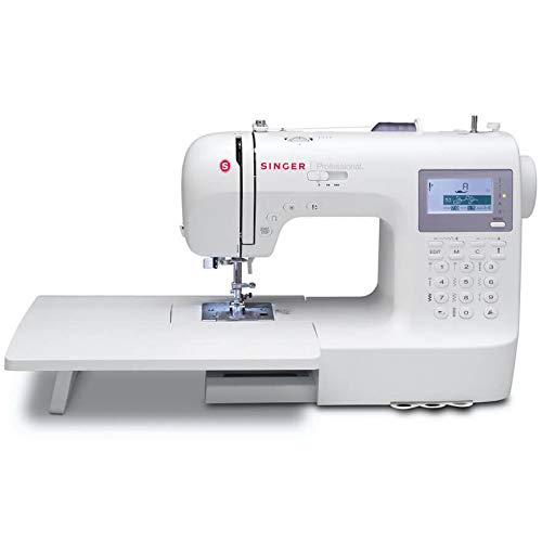 SINGER   Professional 9100 Computerized Sewing with 404 Built-in Stitches, has 2 Built-in Alphabets perfect for personalizing projects, and comes with an Extension Table great for larger sewing ()