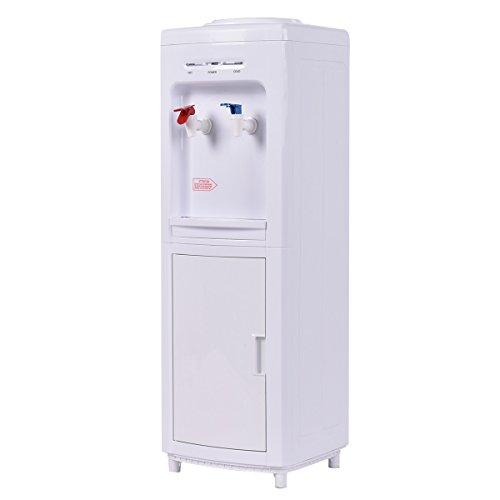 Giantex Top Loading Water Cooler Dispenser 5 Gallon Normal Temperature Water And Hot Bottle Load Electric Primo Home