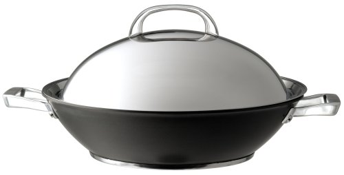 Circulon Infinite Hard Anodised Covered Stirfry Wok, 36 cm Meyer Group Ltd 80962 Circulon Cookware Woks_Stir_Fry_Pans