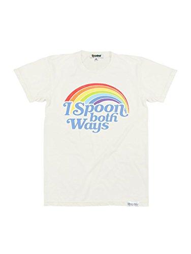 (Men's Rainbow Pride T Shirt - (Spoon Both Ways, X-Large))