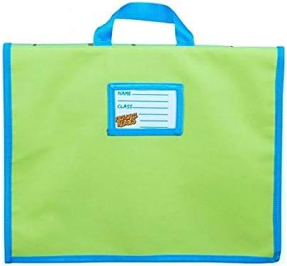 Official Teenage Mutant Ninja Turtles Character Back to School Book Bag Satchel Girls Boys Kids Childrens Multicolour