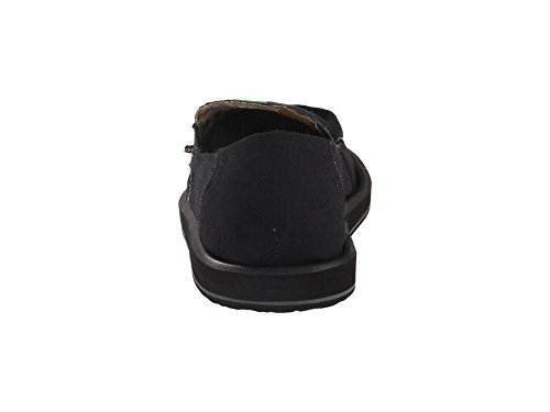 Sanuk Men's Pick Pocket Slip On Black. SMn3g