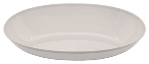 [Creative Converting Form and Function Plastic Oval Bowl, Small, White] (Small Oval Bowl)