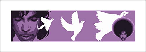 Prince (When Doves Cry, V3) Pop Art - 10x28 - Signed/Numbered Limited Edition Giclée/Fine Art Print/Artwork by John Lathrop - Ed Hand Numbered Fine Art