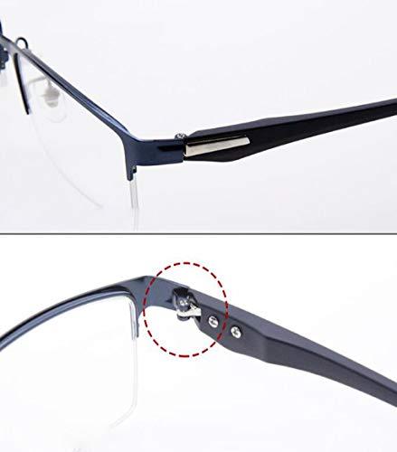 Anti 25x A Feiyuess La Tamaño 1 Inteligente Fatiga Azul Lectura Con Gafas De Ultraligera Zoom Automático Lectores azul Hd Resistentes Gray Hombres Luz Para color aZq04Z1wg