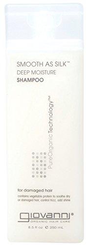 GIOVANNI COSMETICS- Eco Chic Smooth As Silk Shampoo- Deep Moisture For Damaged Hair (8.5 Fl. Ounce)