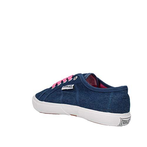 Sneakers Toile Bébé Bleu Everlast Fille ZTq0XX