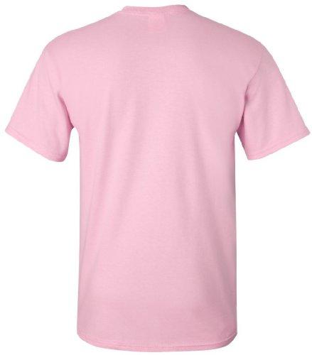 Cotton Piccolo corte Gildan Heavy chiaro Uomo rosa maniche shirt Modello rosa T 100 a cotone Basic piccolo chiaro 7xpC1qwpB8