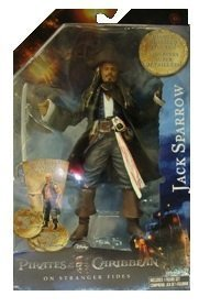 (Pirates Of The Caribbean On Stranger Tides Action Figure, Series 2, (JACK)