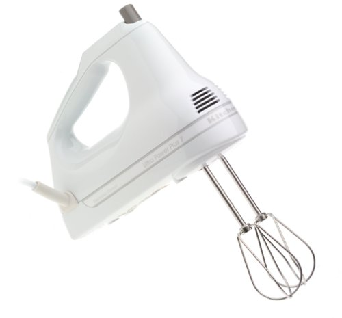 Kitchenaid Khm7t 7 Speed Artisan Hand Mixer White