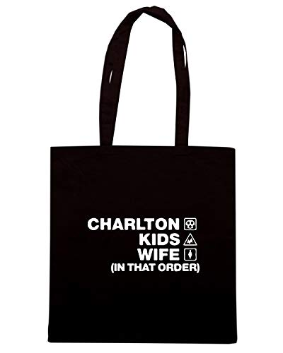 KIDS CHARLTON WC1135 Shirt ORDER DESIGN Borsa Nera Speed WIFE Shopper HaYxOw