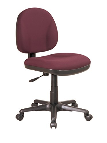Office Star Sculptured Support Burgundy product image
