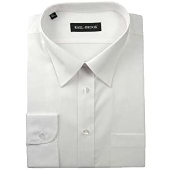 """19.5/"""" Brand New Mens Quality White Dress Shirts in all sizes 14/"""""""