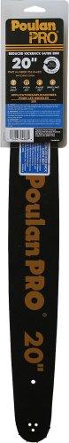 Poulan Pro 20-Inch Chain Saw Bar 952044815