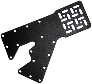 HALTOF PRODUCT DESIGN, INC. 12100 FITS-ALL UNIVERSAL AUTOMOTIVE ELECTRONICS MOUNTING BRACKET