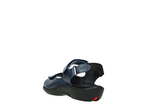 Wolky Sandals 1300 Salvia 30800 Dark Blue Leather alnga1WABs
