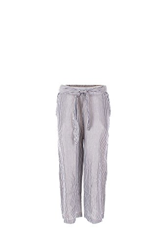 Pantalone Donna Shiki L Blu/bianco 17esk34275 Primavera Estate 2017