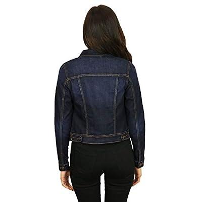 StyLeUp Women's Classic Casual Vintage Denim Jean Jacket/Vest Regular & Plus Size at Women's Coats Shop