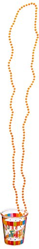 amscan Fiesta Cinco De Mayo Plastic Bead Chain Necklace with Shot Glass   Party Accessory   12 -