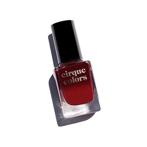 Cirque Colors Thermal Temperature Color Changing Mood Nail Polish - Rothko Red - 0.37 fl. oz. (11 ml) - Vegan, Cruelty-Free, Non-Toxic Formula