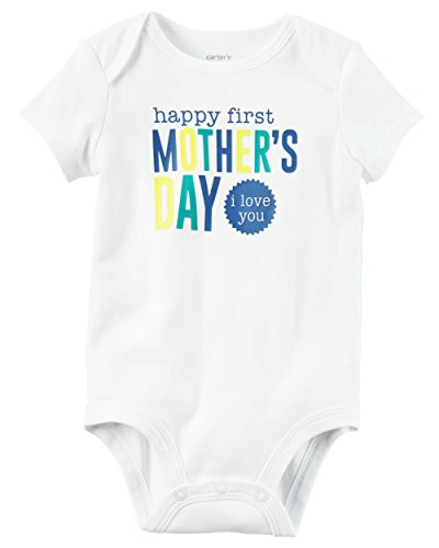 Carters Baby First Mothers Bodysuit