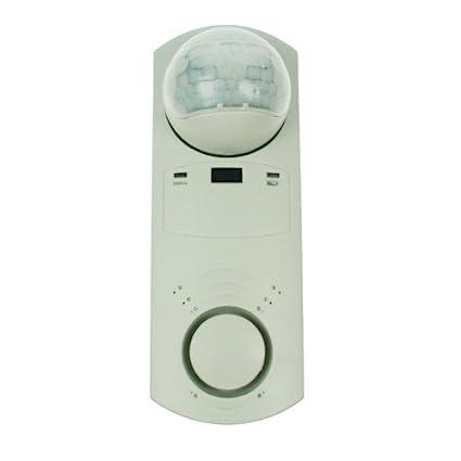 M9IA - mando a distancia giratorio 180° para interiores con sensor de movimiento por humo