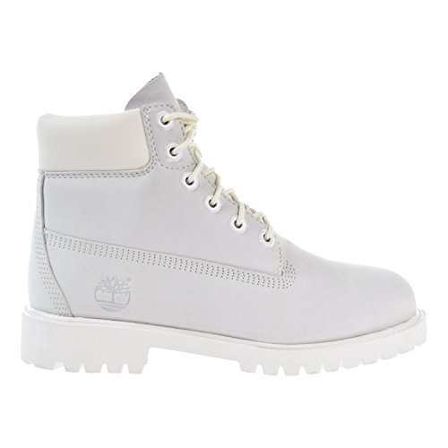 Timberland 6 Inch Waterproof Big Kid's Boots White a1mli (6.5 M US) by Timberland