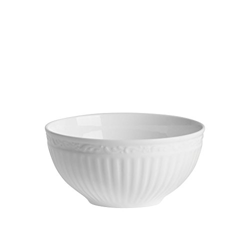 Mikasa Italian Countryside Bone China Fruit Bowl, 11-Ounce, White