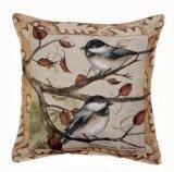 Autumn Chickadee Tapestry Toss Pillow - USA